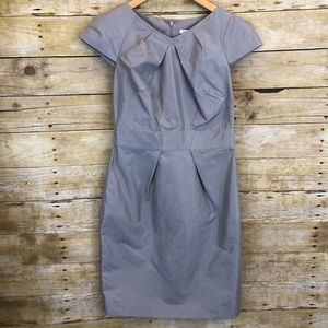 Banana Republic Gray Career Dress Size 2